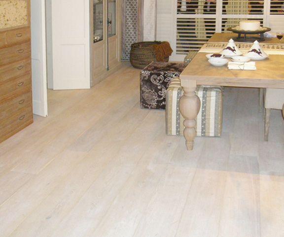 Monocoat Cotton White Oil Finish on White Oak Flooring - matte finish ...