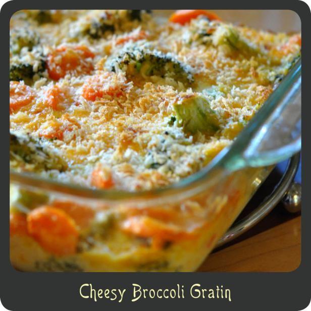 Cheesy Broccoli Gratin | Eats, Sweets and Drinks | Pinterest