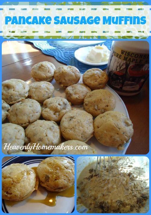 sausage muffins on a pancake sausage muffins on a stick recipe ...