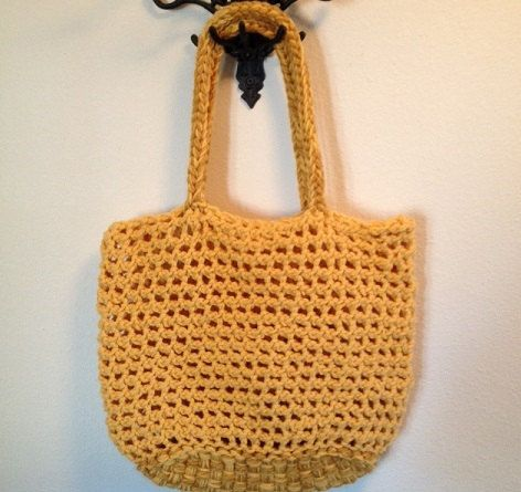 Tote Bag - Loom Knit Pattern