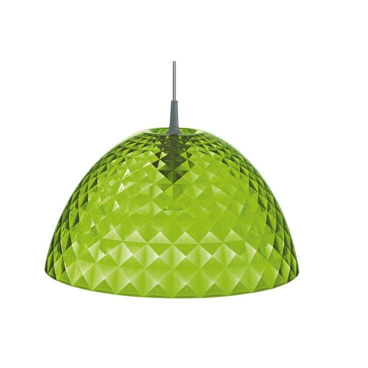 Koziol Stella Hanglamp M - Transparent green - De online lampen ...