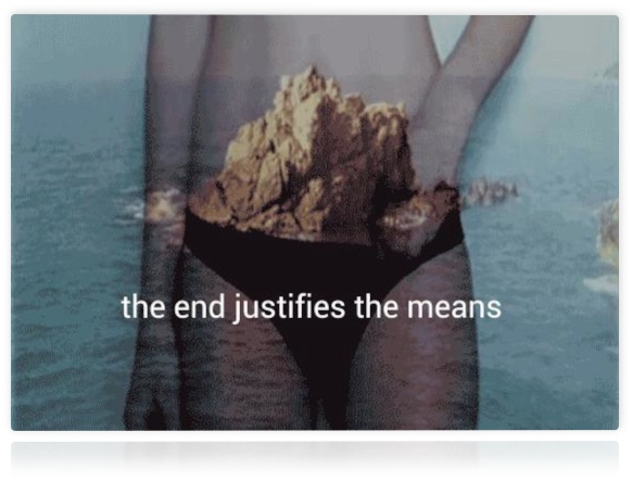 essay on the end justifies the means