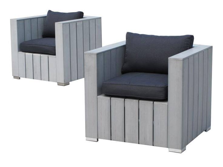 Loungestoel barbados meubles de jardin pinterest for Ameublement de jardin