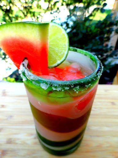 Fresh Watermelon Margarita. YES.