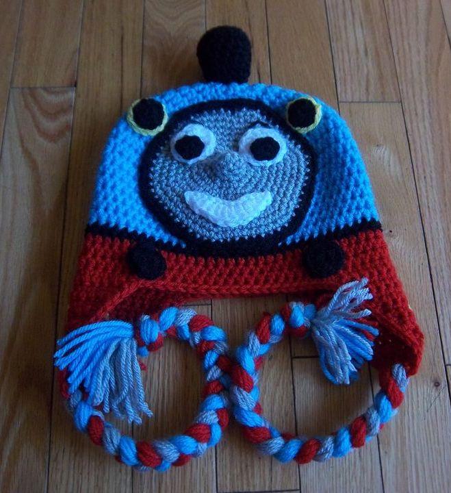 Free Crochet Hat Pattern For Thomas The Train : Pin by Amanda Cera on Crochet Pinterest
