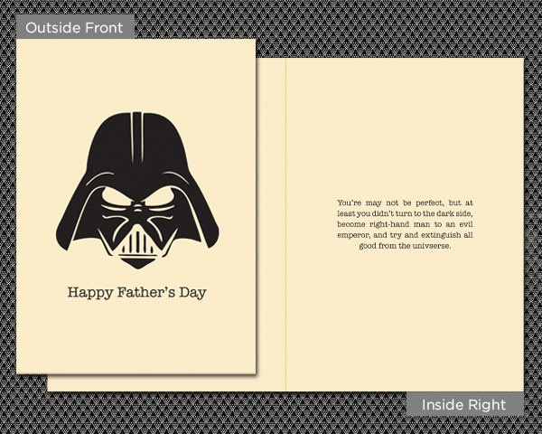 darth vader father's day video