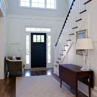Pin by malisa bowen on for the home pinterest for Foyer moulding ideas