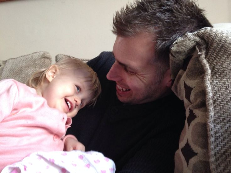 @PhotoBox UK  my partner is the bestest dad ever. He chases, tickles and makes my daughter laugh❤️ and her laugher & smiles keeps us going #MyDadMyHero
