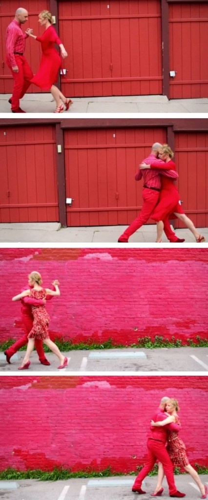 Just for fun...What do color, tango and good music have in common? Check out this fab video!