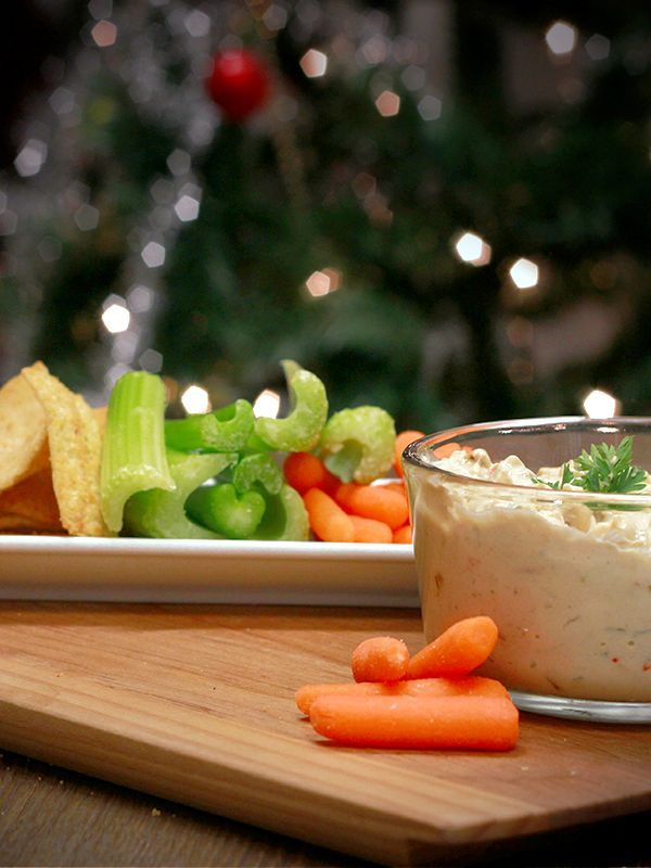 ... , no? Get on the nice list, with Velvet Vegetable and Cheese Fondue