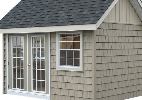 Shake vinyl siding cottage exterior ideas pinterest for Cottage siding ideas