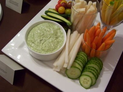 green goddess dip with crudite | Food for Parties/Special Occasions ...