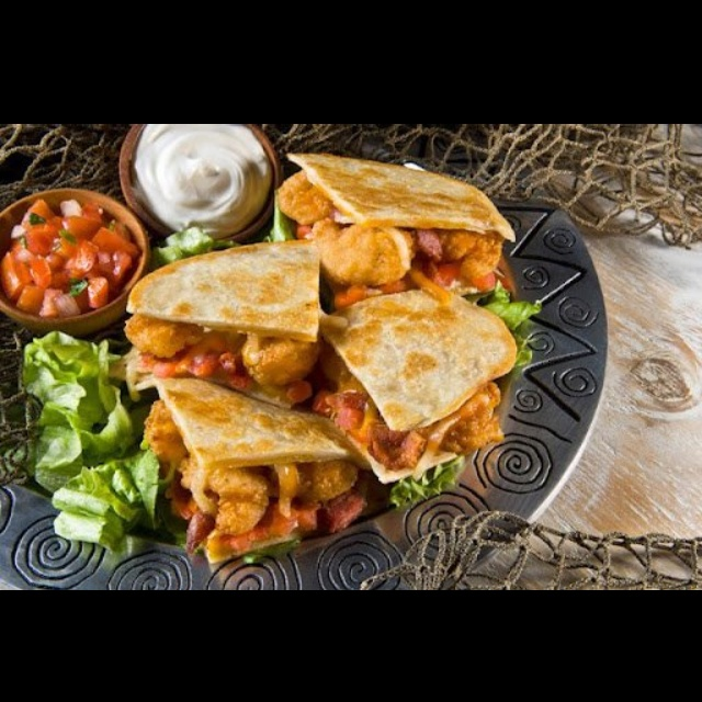 Spicy shrimp quesadillas Grilled Chicken with Watermelon Glaze ...