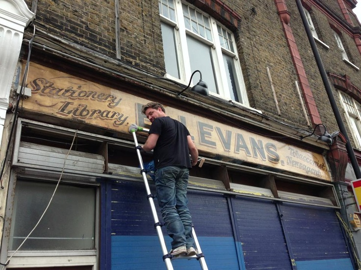 Sign Restoration NGS London