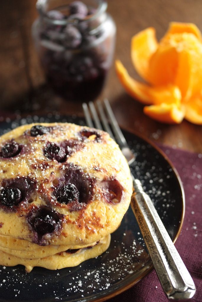 Blueberry Cottage Pancakes