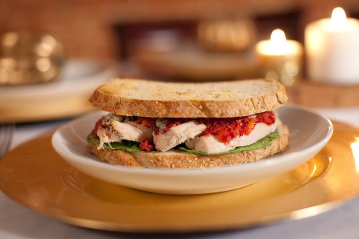 Thanksgiving Leftovers Recipe, Turkey & Blue Cheese Sandwich, Ryan ...