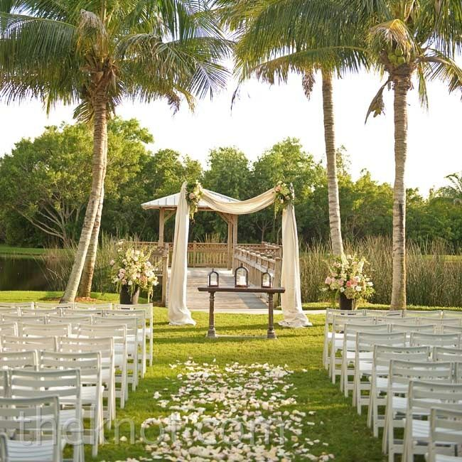 Romantic Outdoor Ceremony Decor