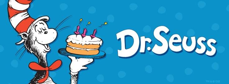 Happy birthday dr seuss celebrate pinterest