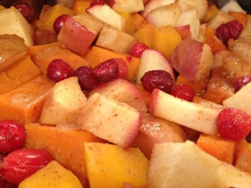 Butternut Squash Apple Cranberry Bake | Dinner/entrees | Pinterest
