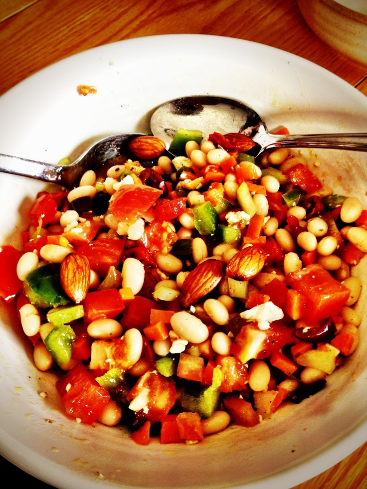 White Bean Salad | Recipes- Salads | Pinterest