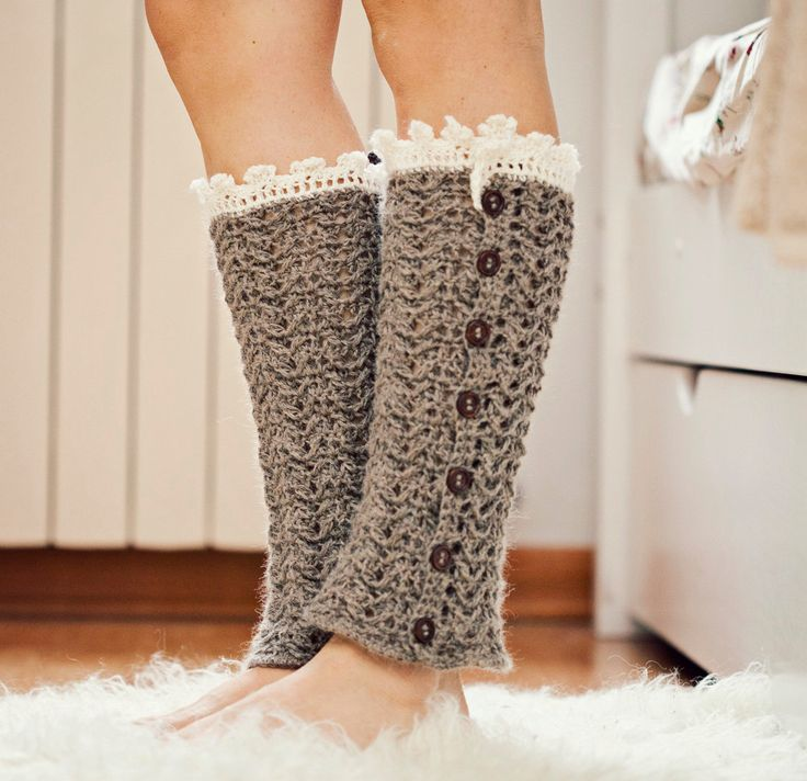 Crochet Leg Warmers : Crochet PATTERN for leg warmers (pdf file) - Luxury Leg Warmers