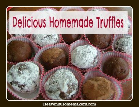 Homemade Truffles