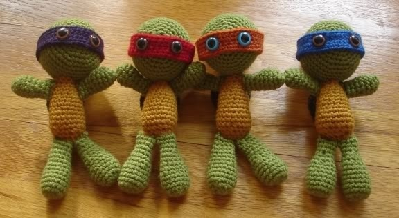 Crochet Ninja Turtle : ninja turtles crochet Crochet & Knitting Pinterest