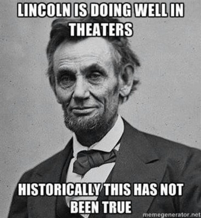 Things Are Turning Around For Honest Abe Har Larious