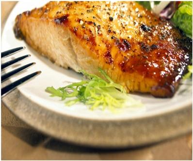 Salmon with Brown Sugar & Mustard Glaze | Cooking | Pinterest