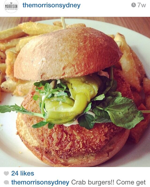 Crab burger | Food/Burgers | Pinterest