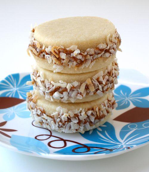 ... cookies/shortbread-sugar/alfajores-or-dulce-de-leche-sandwich-cookies
