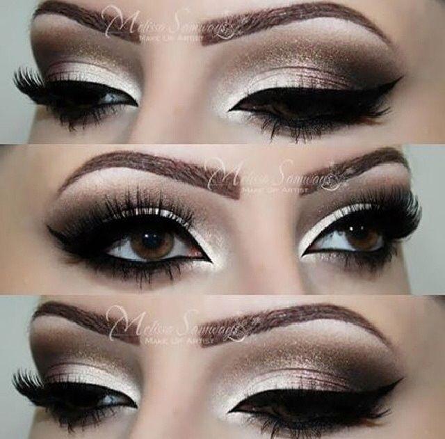 Gorgeous Smokey Eyes Makeup - Fashion Urge
