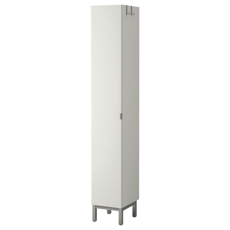 Lill Ngen High Cabinet 1 Door White