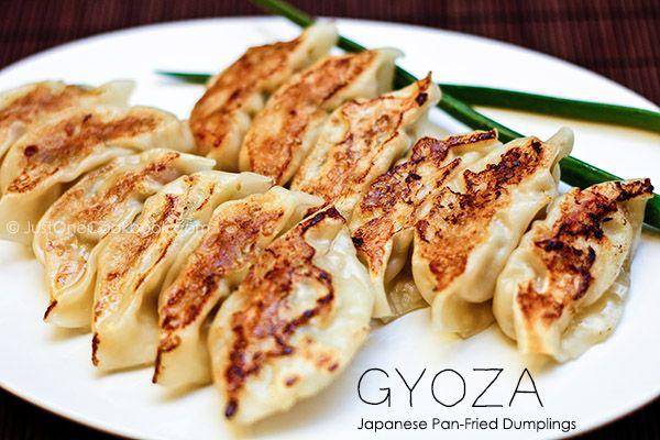 Gyoza (Potstickers) | Japanese Pan Fried Dumpling Recipe | Just One ...