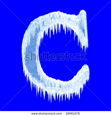 cold letter c winter c abc 123 pinterest