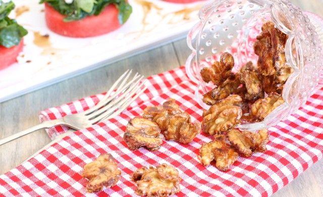 paleo Spiced Candied Walnuts: 1/2 cup raw walnuts (soak overnight in ...