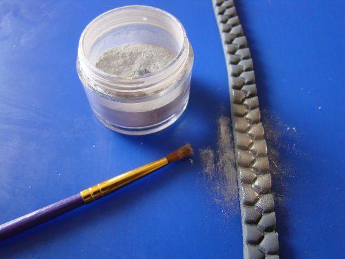 how to make a fondant zipper :)
