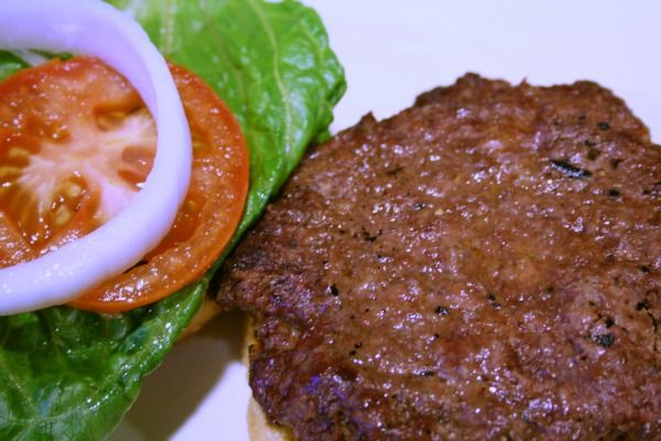Hamburger Patty Recipe-very good but next time add chopped onions.