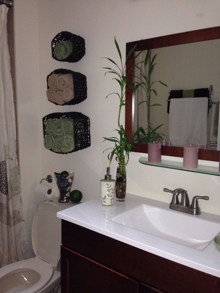 Small bathroom decorating ideas on pinterest for Bathroom ideas pinterest