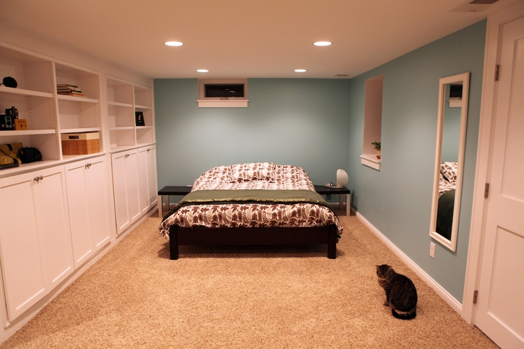 The Wall Basement Bedroom Pinterest