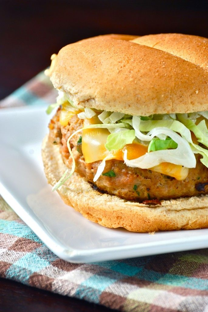 Turkey Burgers | Recipes- delish | Pinterest
