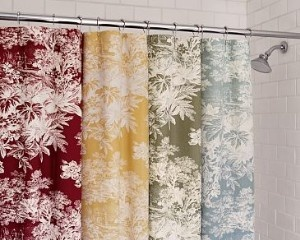 Loving The Yellow Toile Shower Curtain French Country Pinterest