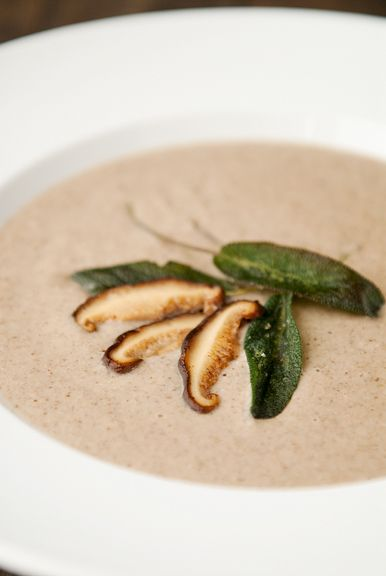 The Real Mushroom Soup Recipe — Dishmaps