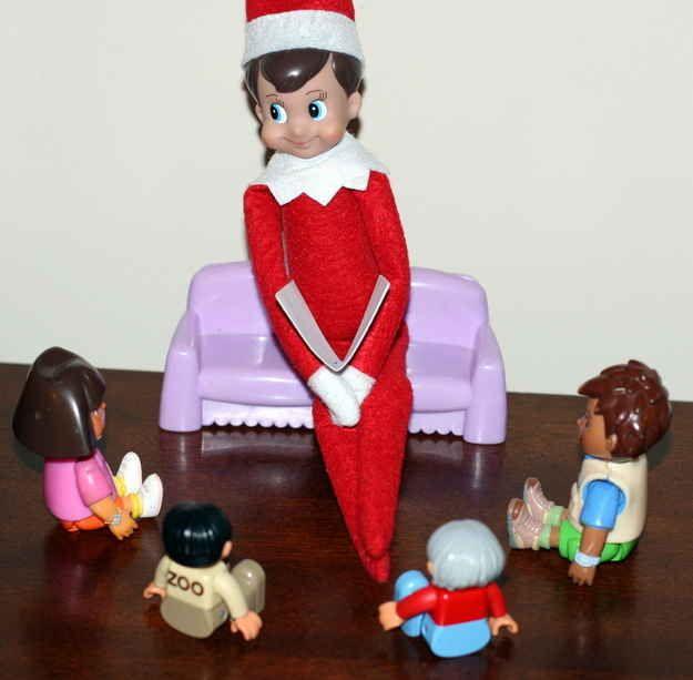 Story time | Elf on the Shelf Ideas | Pinterest