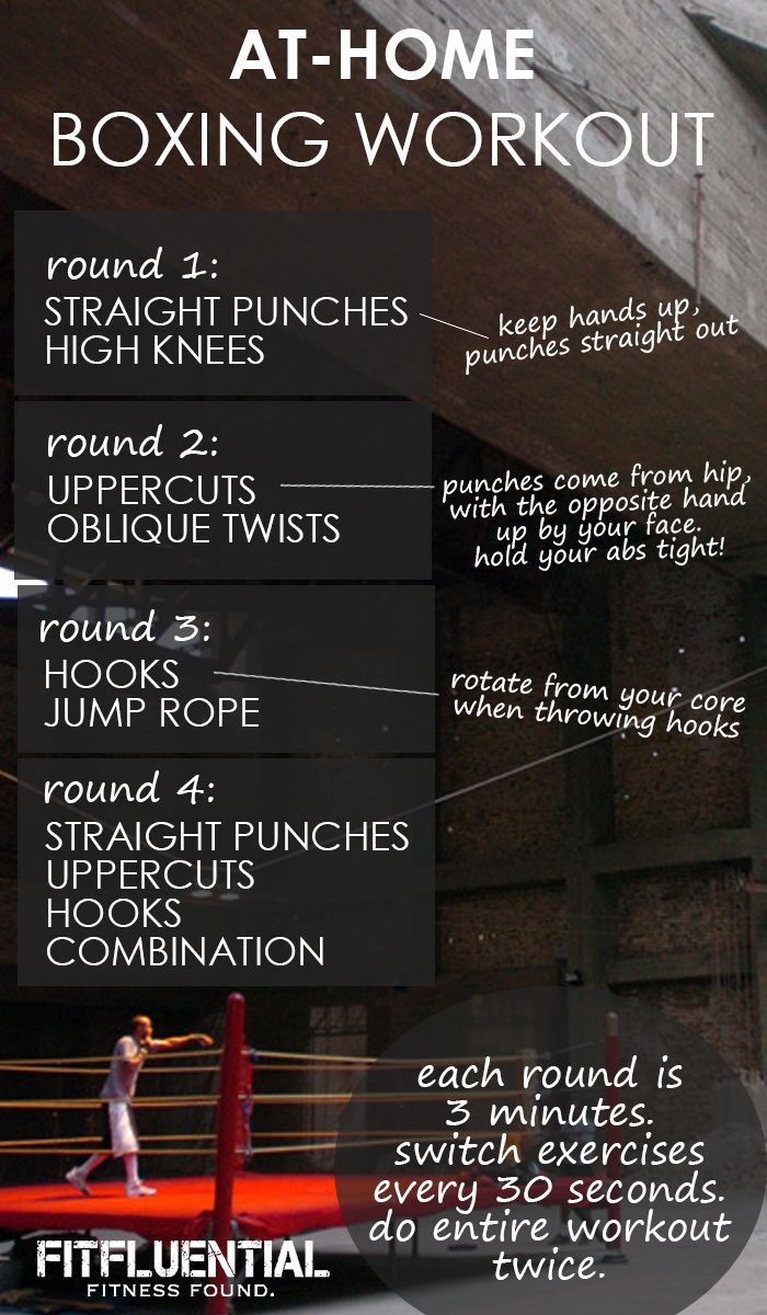 Torch 400 Calories With This Boxing Workout You Can Literally Do Anywhere