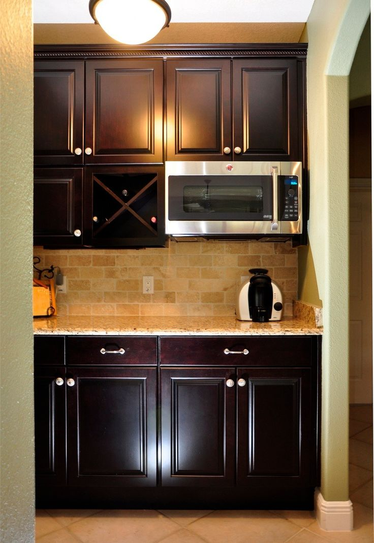 Pin by linda hudick on kitchen pinterest for Built in kitchen bar