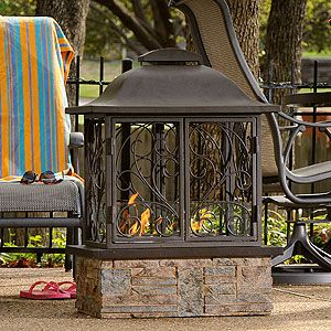 Portable Outdoor Fireplace Taylor Pinterest