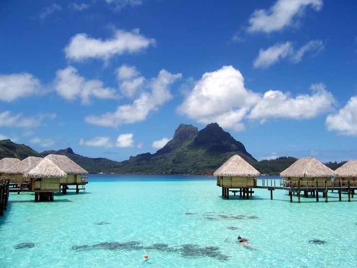 and how about a long weekend in Bora Bora