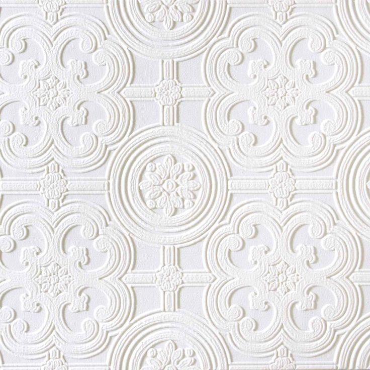 paintable anaglypta rd80029 wallpaper