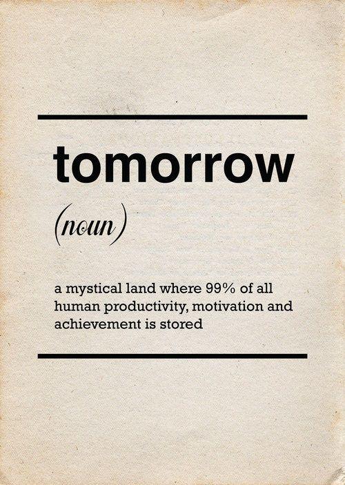 Change, Procrastination, Dapoppins